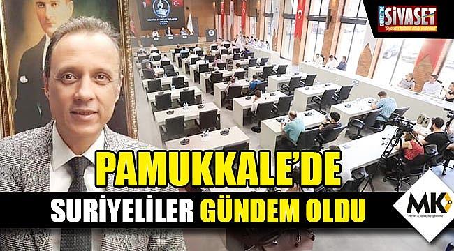 Pamukkale'de Suriyeliler gündem oldu