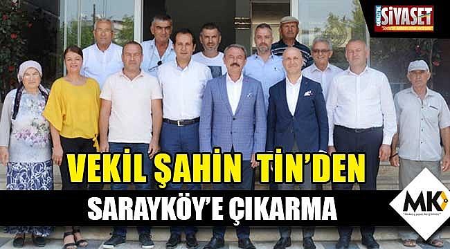 Sarayköy'den birlik mesajı verdiler