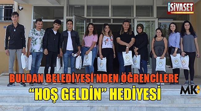 Buldan Belediyesi'nden öğrencilere
