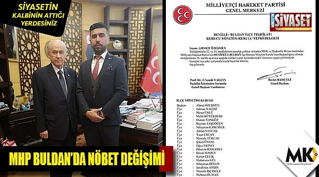 MHP Buldan'da nöbet değişimi