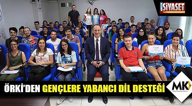 Örki'den gençlere yabancı dil desteği