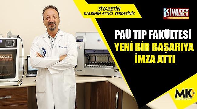 PAÜ Tıp Fakültesi yeni bir başarıya imza attı
