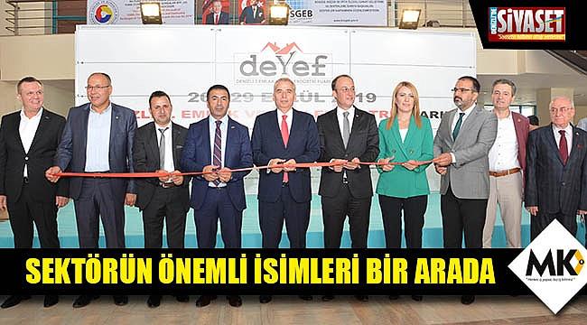 Türkiye'nin kendi alanında ilk ve tek fuarının açılışı yapıldı