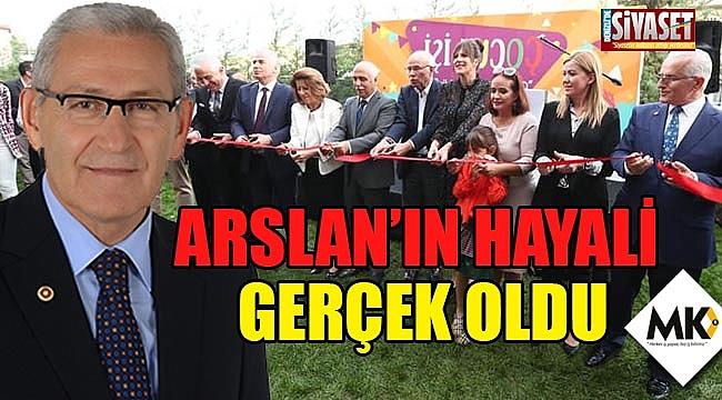 Arslan'ın hayali gerçek oldu