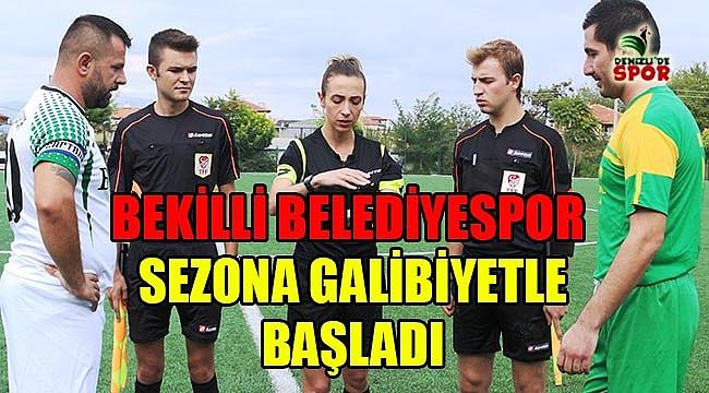 Bekilli Belediyespor sezona galibiyetle başladı