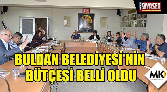 Buldan Belediyesi'nin bütçesi belli oldu