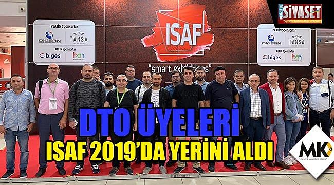 DTO üyeleri ISAF 2019'da yerini aldı