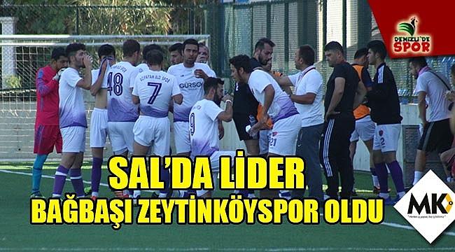 SAL'da lider Bağbaşı Zeytinköyspor oldu