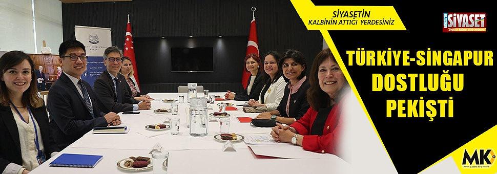 Türkiye-Singapur dostluğu pekişti