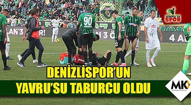 Denizlispor'un Yavru'su taburcu oldu