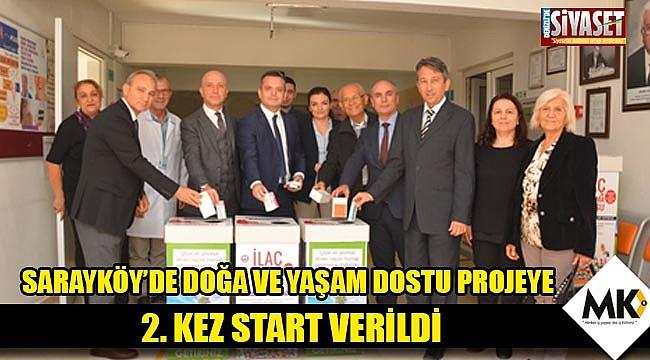 Sarayköy'de doğa ve yaşam dostu projeye 2. Kez start verildi