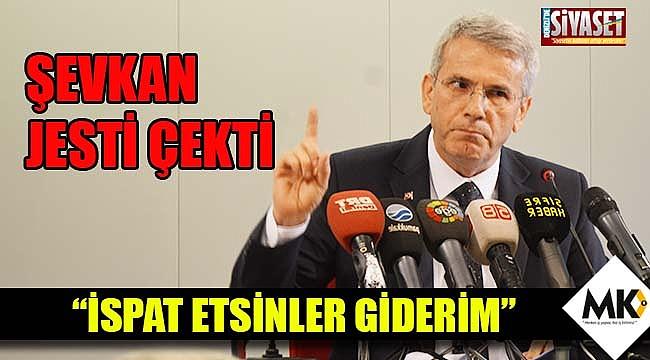 Şevkan, jesti çekti
