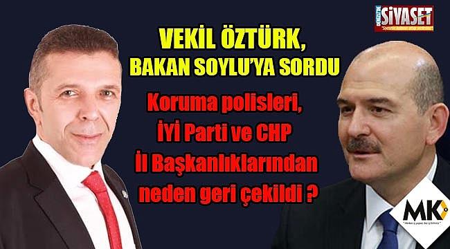Vekil Öztürk, Bakan Soylu'ya sordu