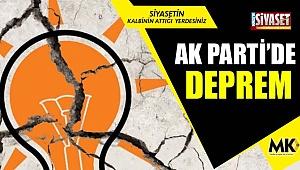 AK Parti'de deprem