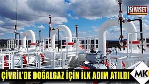 Çivril'de doğalgaz için ilk adım atıldı