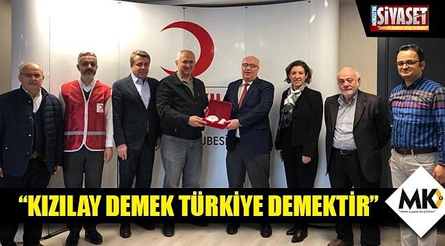 Deniz: Kızılay demek Türkiye demektir