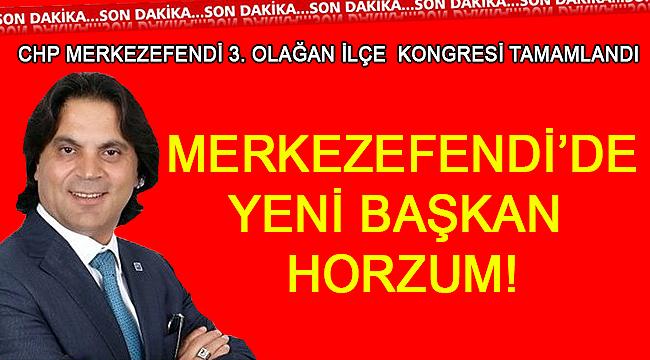 Merkezefendi'de Başkan Horzum!