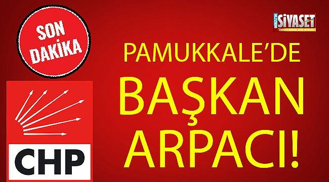 PAMUKKALE'DE BAŞKAN ARPACI!