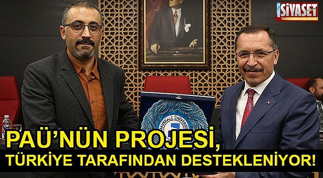PAÜ'nü projesi, Türkiye'de desteklenen projelerden biri oldu