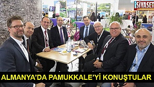 Almanya'da Pamukkale'yi konuştular
