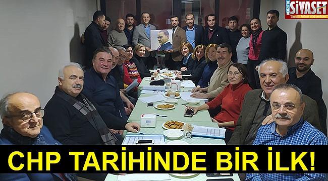 CHP tarihinde bir ilk!