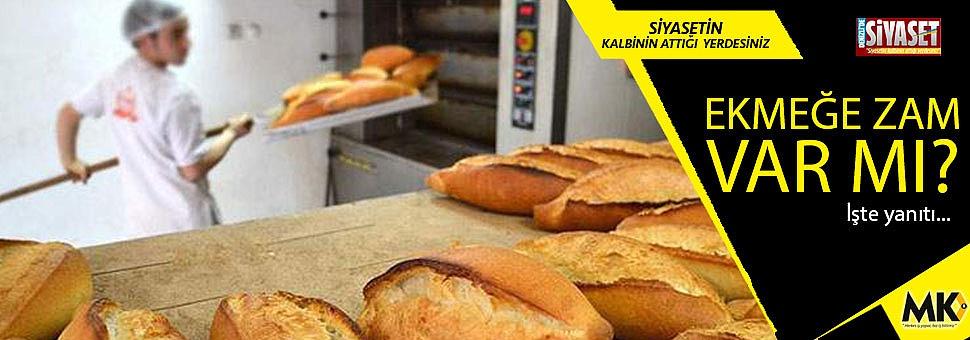 Ekmek zammı tartışmalarına son nokta!