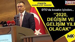 """Erdoğan: """"2020, değişim ve gelişim yılı olacak"""""""