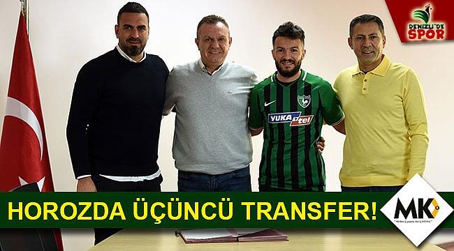 Horozda üçüncü transfer!