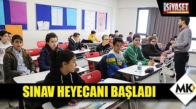 Sınav heyecanı başladı