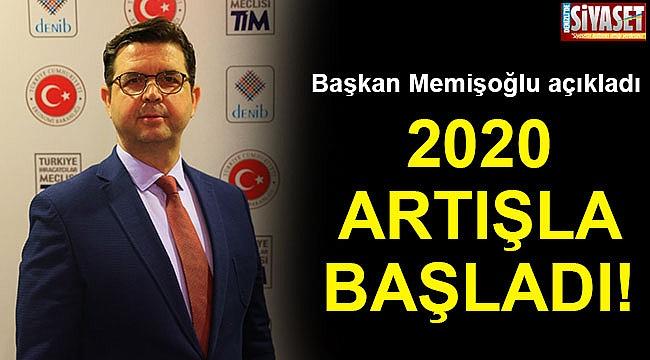 2020 artışla başladı!