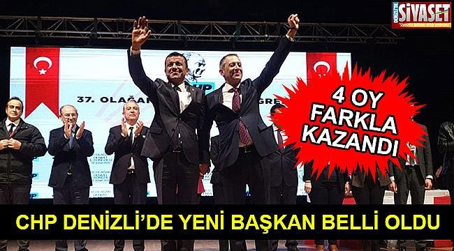 CHP Denizli'de yeni başkan belli oldu