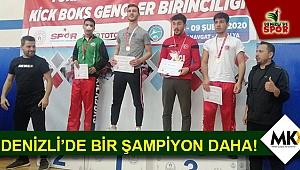 Denizli'de bir şampiyon daha!
