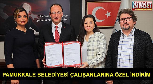 Pamukkale Belediyesi çalışanlarına özel indirim