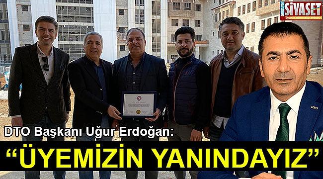 """Erdoğan: """"Üyemizin yanındayız"""""""