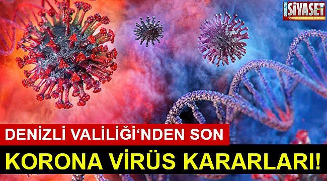 İşte son korona virüs kararları!