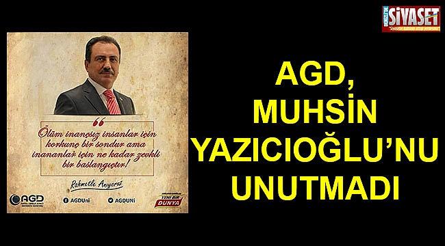 Muhsin Yazıcıoğlu rahmetle anılıyor