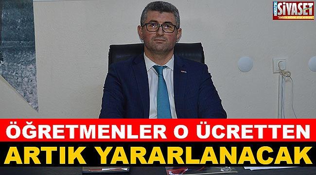 Müjdeyi Başkan Aydoğan verdi