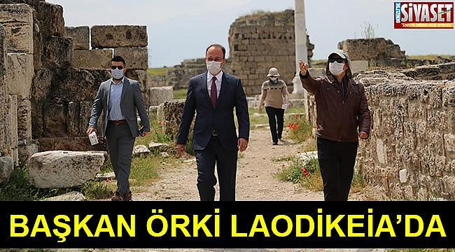 Başkan Örki Laodikeia'da