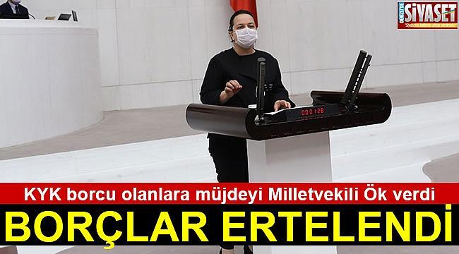 BORÇLAR ERTELENDİ