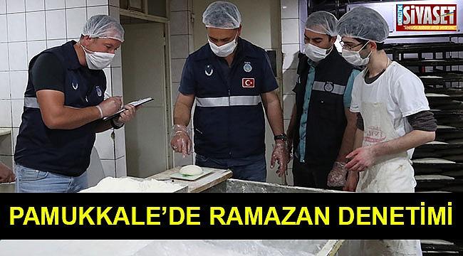 Pamukkale'de ramazan denetimi