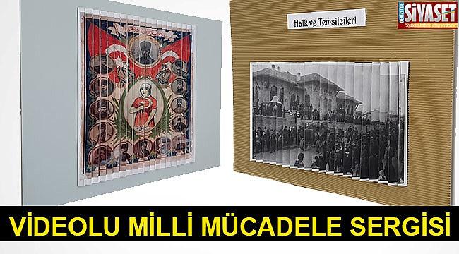 """Videolu """"Milli Mücadele Dönemi"""" Sergisi"""