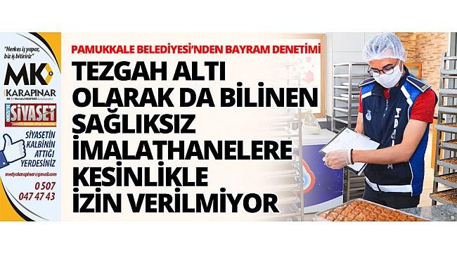 Başkan Örki, halk sağlığı en önemli unsur