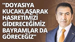 DTO Başkanı Erdoğan, halkın Ramazan Bayramı'nı kutladı