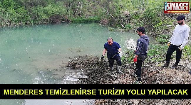 Menderes temizlenirse turizm yolu yapılacak