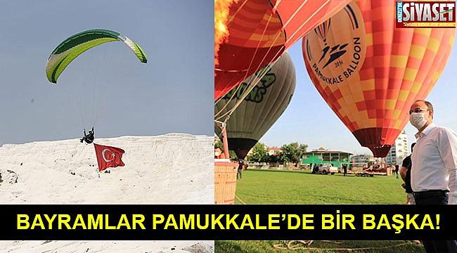PAMUKKALE'DE 19 MAYIS COŞKUSU