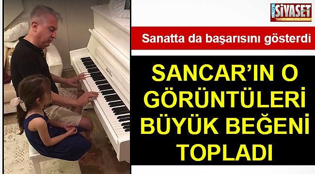 Sancar, piyanodaki başarısını gösterdi
