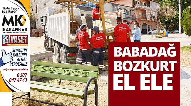 Babadağ-Bozkurt el ele