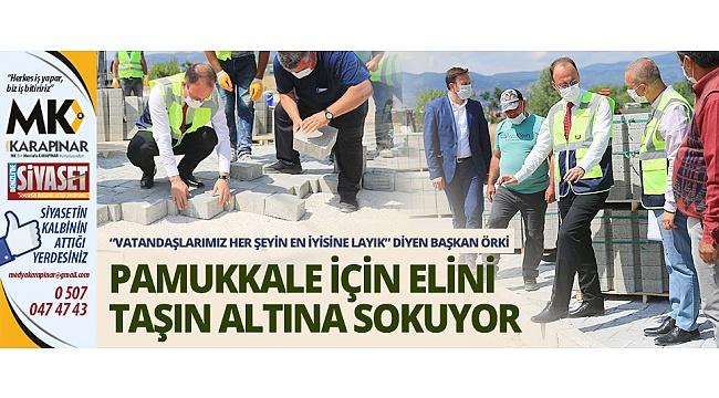 Başkan Örki: Vatandaşlarımız her şeyin en iyisine layık