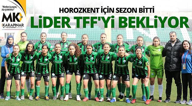 Horozkent Spor Kulübünde gözler TFF'ye çevrildi