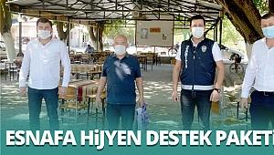 Sarayköy Belediyesi'nden hijyen destek paketi